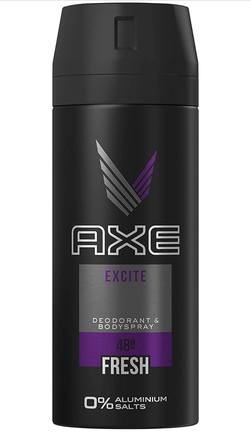 12x 150ml AXE Excite Deodorant voor maar 'n tientje! (3 voor €3,46!)