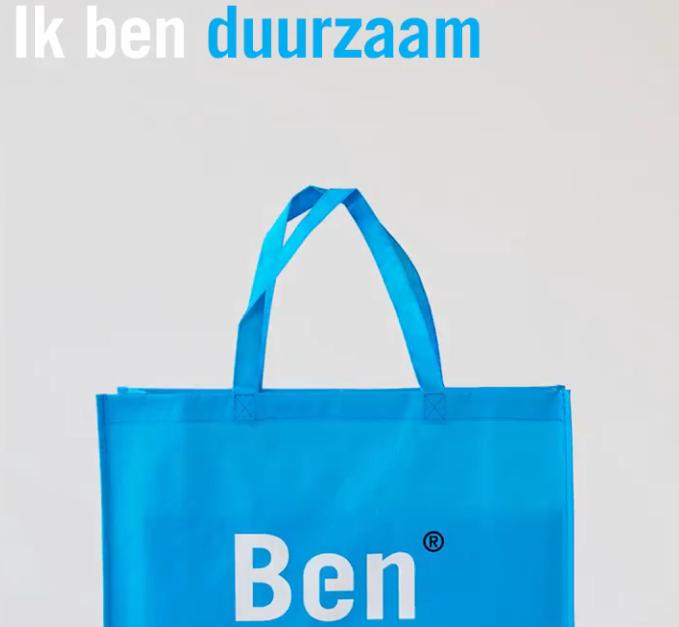 Gratis BEN shopper (met inhoud?) t/m 15 januari