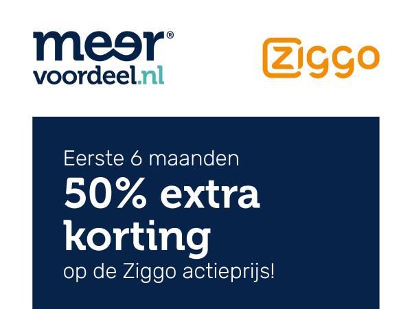 [ING PUNTEN] 6 maanden 50% korting bovenop alle actieprijzen Ziggo alles in 1! (Start €19,95 per maand)