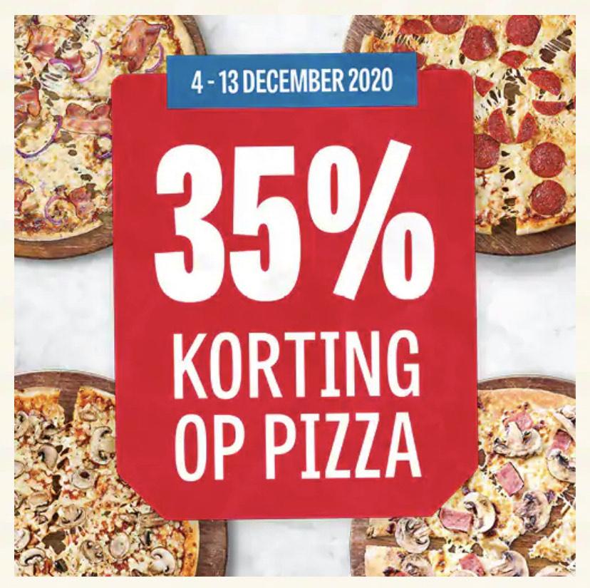35% korting bij Domino's pizza (Lokaal)