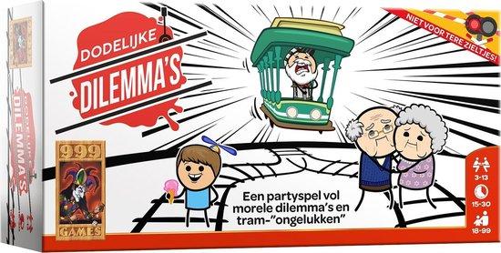 Dodelijke dilemma's 999 games partyspel 18+ voor €17,79 @ Bol.com