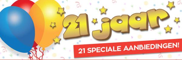 21 jaar bestaan met 21 speciale aanbiedingen @Informatique