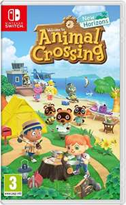 Animal Crossing: New Horizons Nintendo Switch Engelstalige hoes voor €42,92 inc verzending @ Amazon UK
