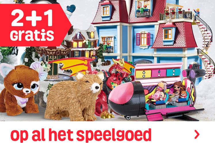 2+1 op (buiten)speelgoed, gezelschapsspellen, knutsel- en kerstartikelen @ Fun