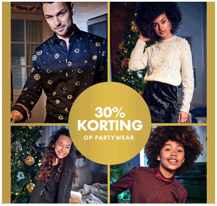 Partywear -30% + €10 EXTRA met code
