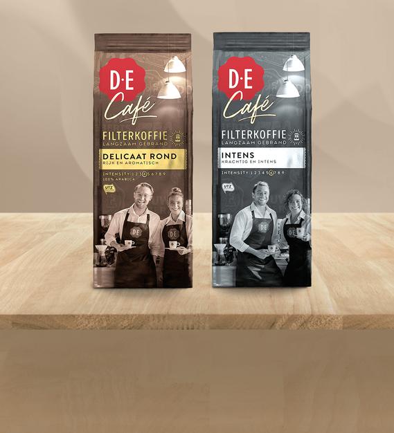 D.E Café Filterkoffie voor 1,50/GRATIS | Scoupy
