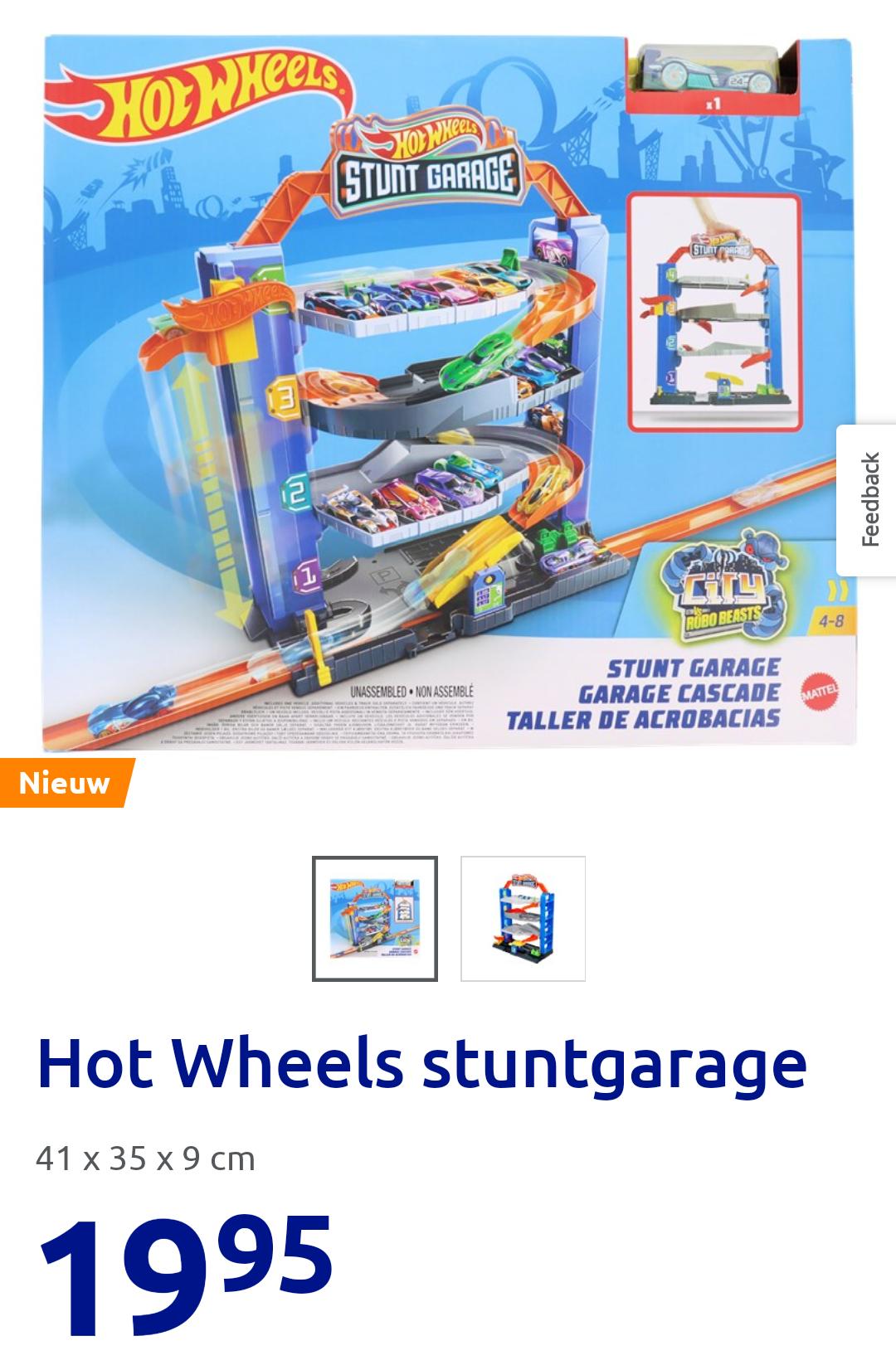 Hot Wheels Stuntgarage bij Action