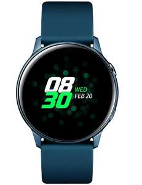 Samsung Galaxy Watch Active ( Dit keer in het groen! )