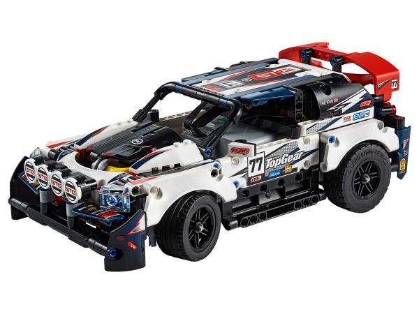 Top Gear rallyauto met app-bediening (42109)