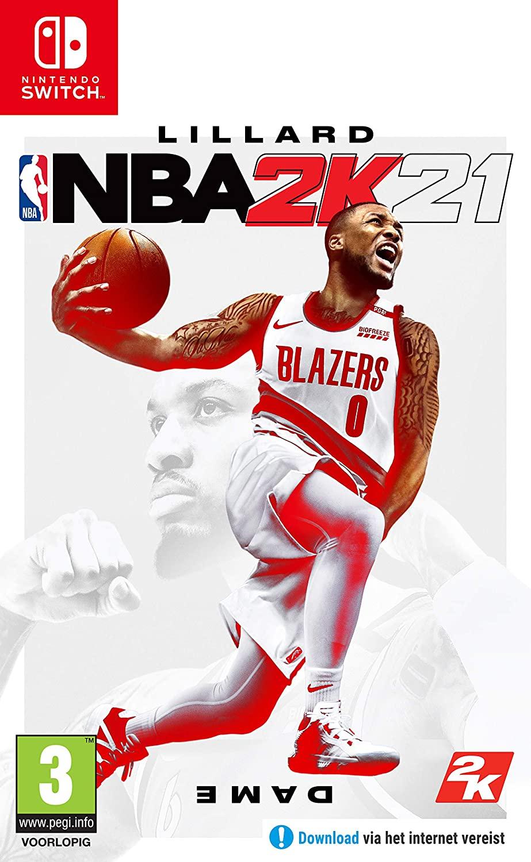 NBA 2K21 - Nintendo Switch en PS4 - NL versie @Amazon.nl