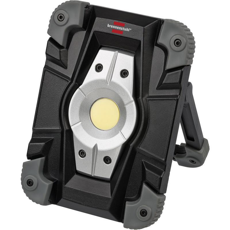 Brennenstuhl LED krachtstraler met accu en USB IP54 10W 1000lm 6500K @ Toolstation