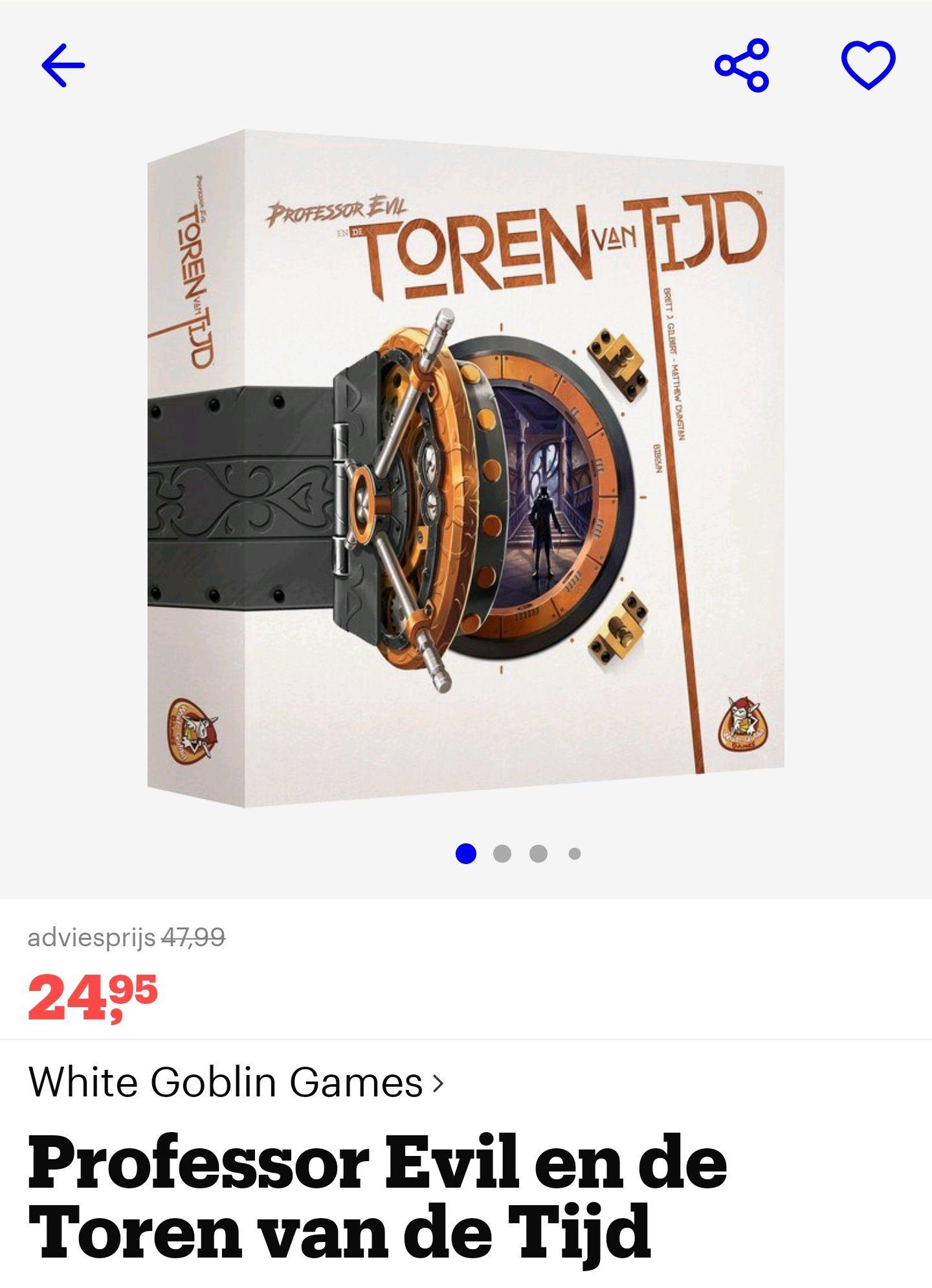 Professor Evil en de toren van de tijd (White Goblin Games)