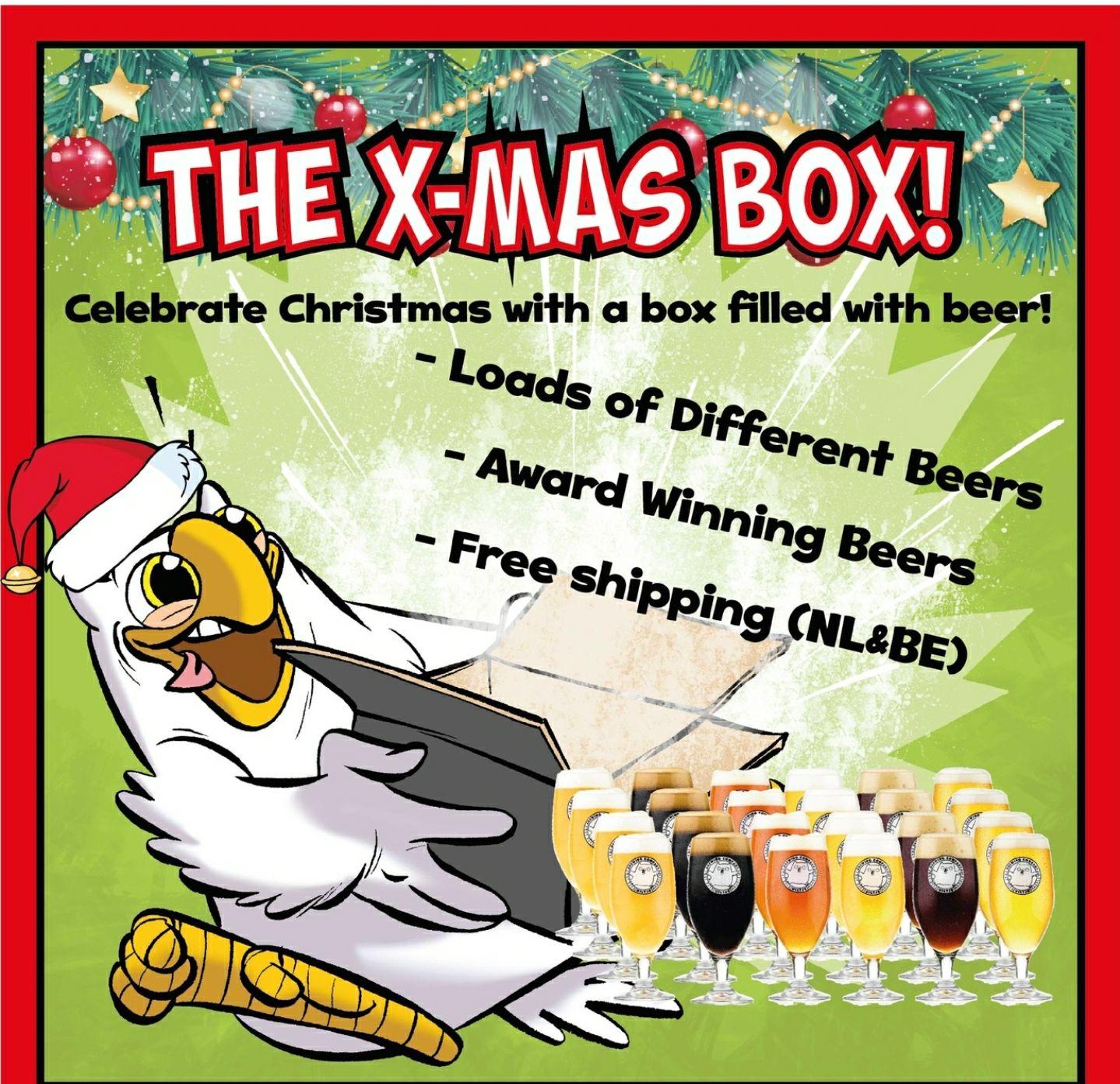 X-mas box van brouwerij het Uiltje
