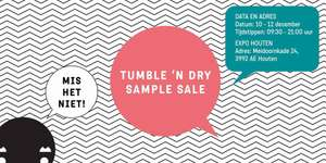 TUMBLE 'N DRY - kinderkleding - sample sale - 10, 11, 12 dec - Expo Houten