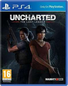 PS4 Uncharted: Lost Legacy