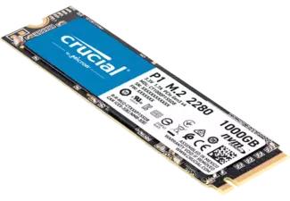 Crucial P1 1TB M.2 SSD @ Media Markt