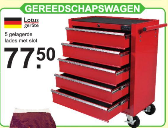 [Lokaal] Gereedschapswagen 5 laden #Cranenbroek