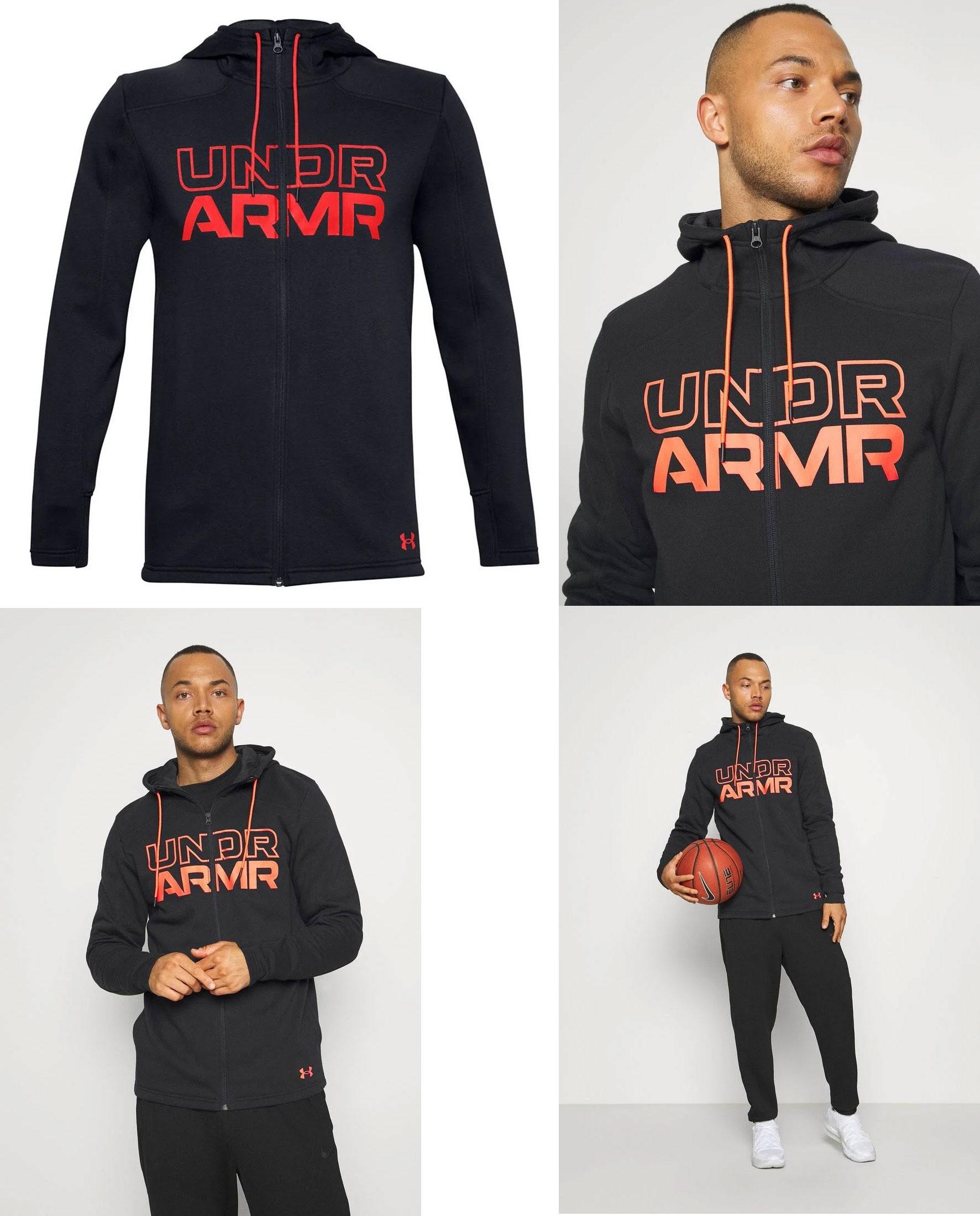 Under Armour hoodie met rits Baseline