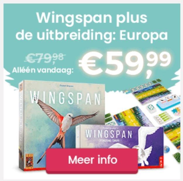 999 Games Wingspan + uitbreiding wingspan europa @999games