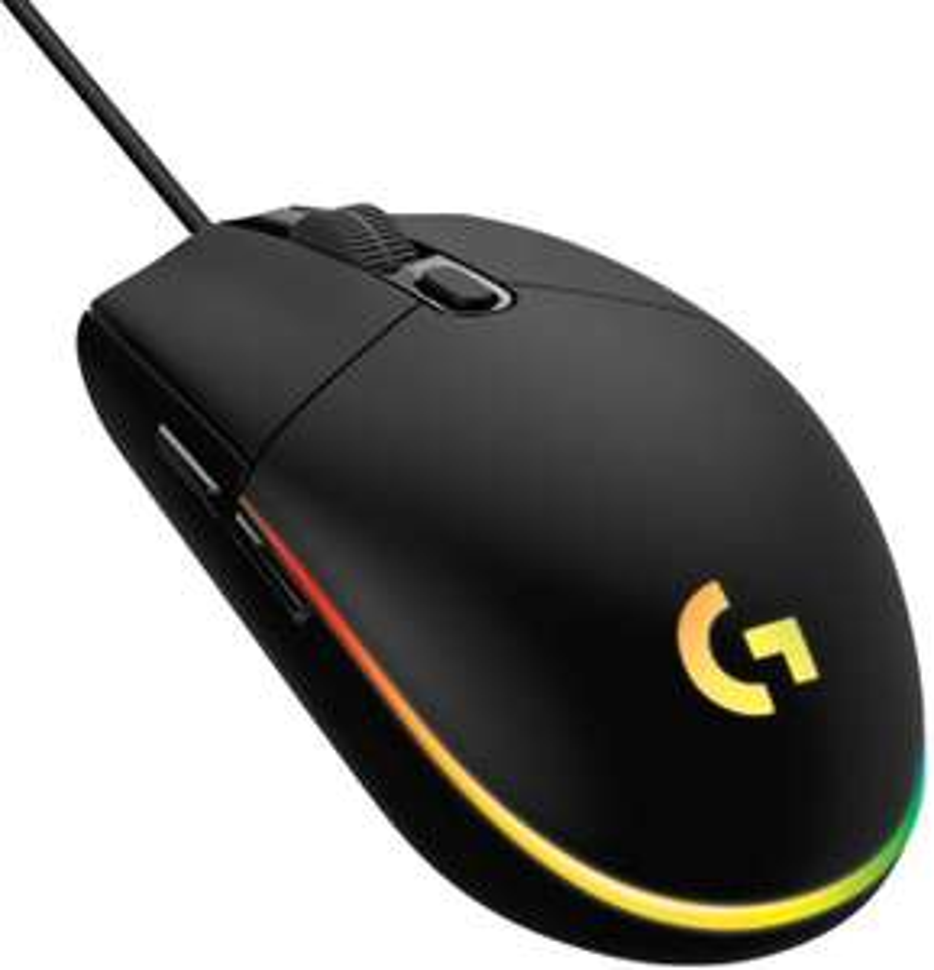 Logitech G203 Lightsync Gaming Mouse met Aanpasbare RGB-verlichting