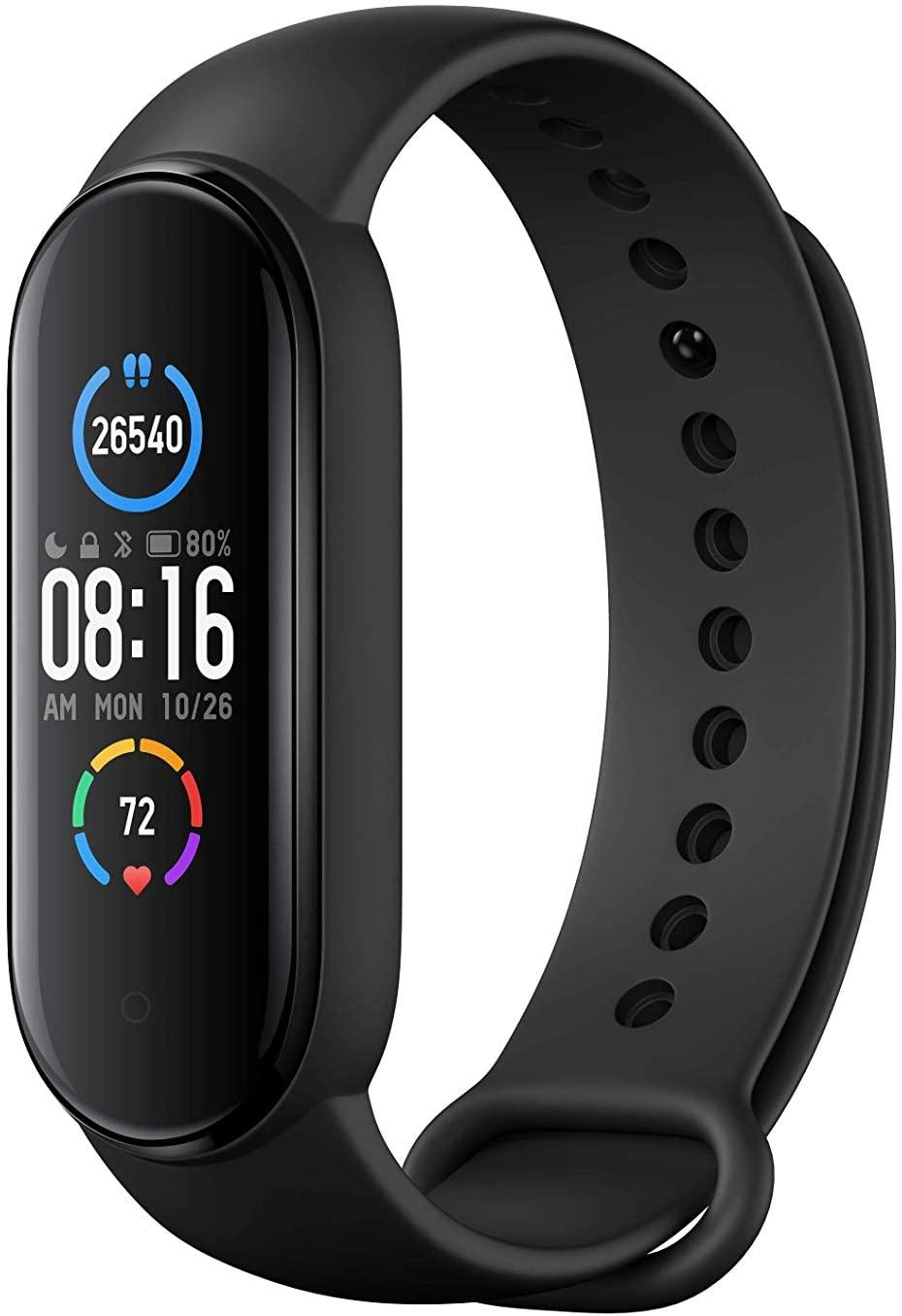 Xiaomi Mi Band 5 (Zwart) - Gezondheid & Fitness Tracker @Amazon.nl