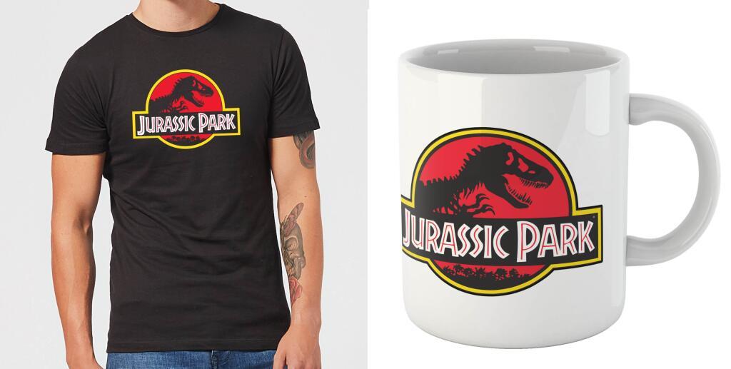 Jurassic Park heren t-shirt + mok voor €9,99 @ Zavvi