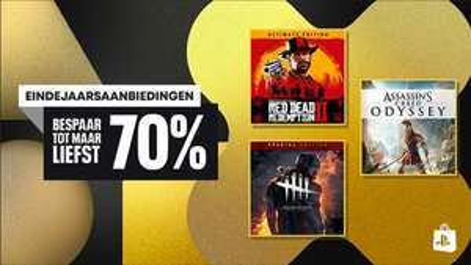 PlayStation Eindejaarsdeal + The Game Awards