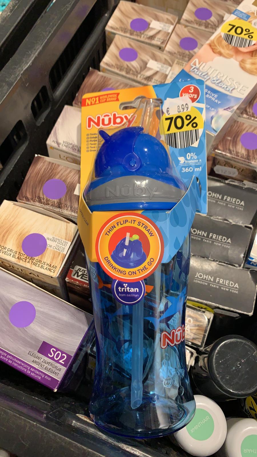 (LOKAAL?) Etos Arnhem 70% Nuby Drinkbeker 360 ML