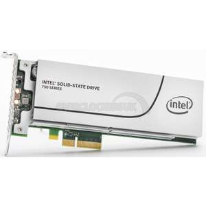 Intel 750 Series 800GB PCIe 3.0 X4 HHHL Adaptor NVMe SSD (SSDPEDMW800G4X1) voor €622,65 @ Overclockers.co.uk
