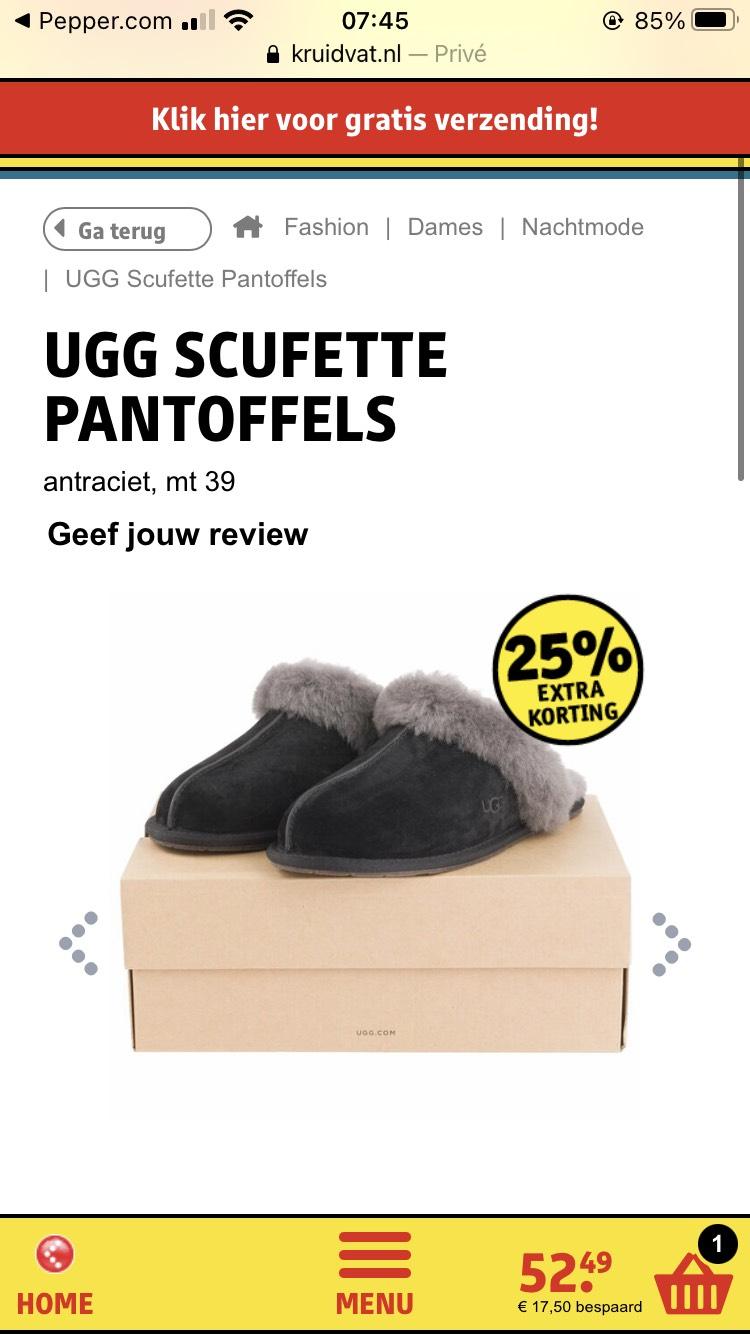 UGG Pantoffels (maat 40)