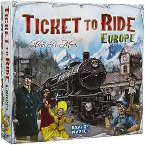 Ticket to ride Europe bordspel aanbieding @toychamp