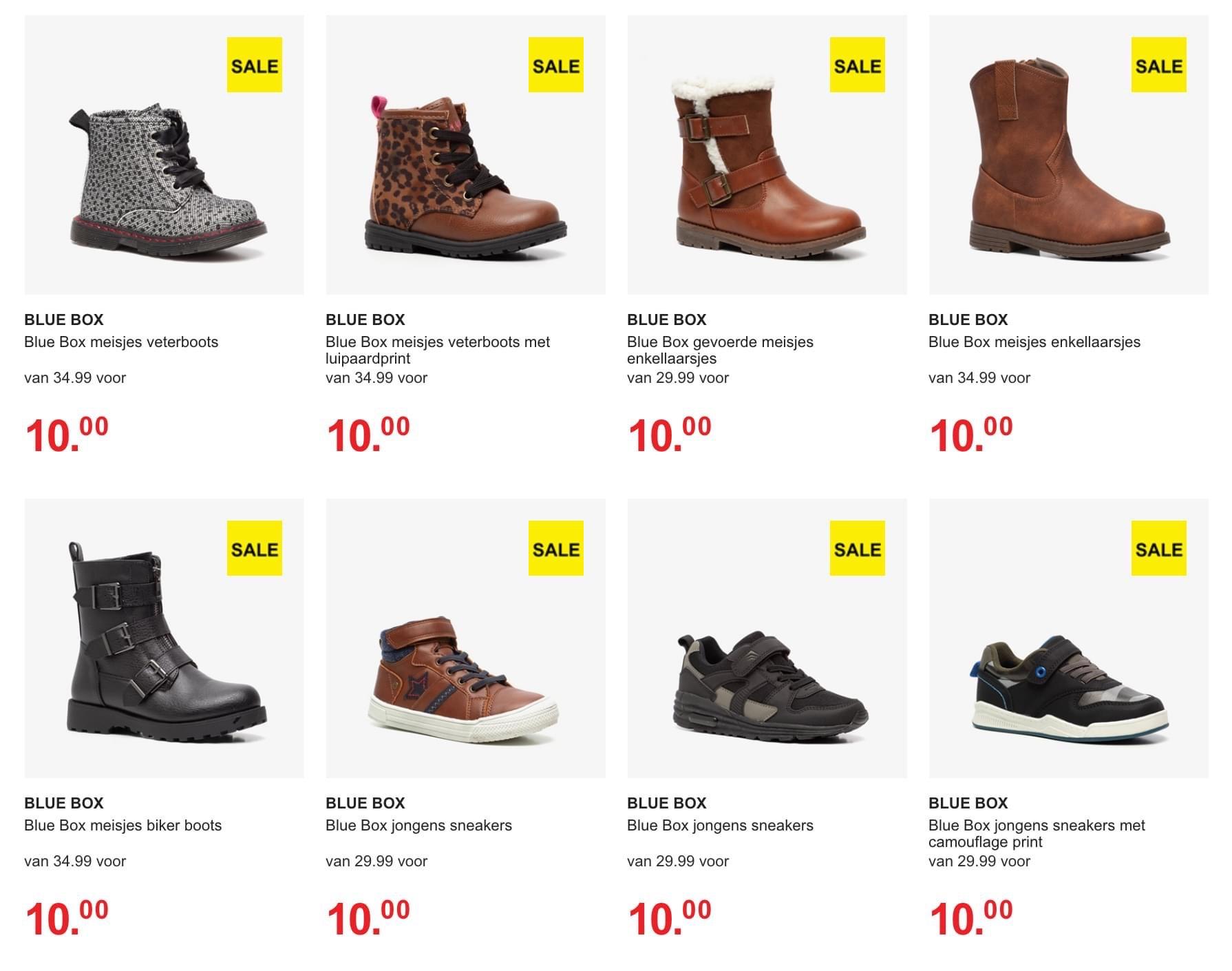 Heel veel korting op (kinder)schoenen bij Scapino