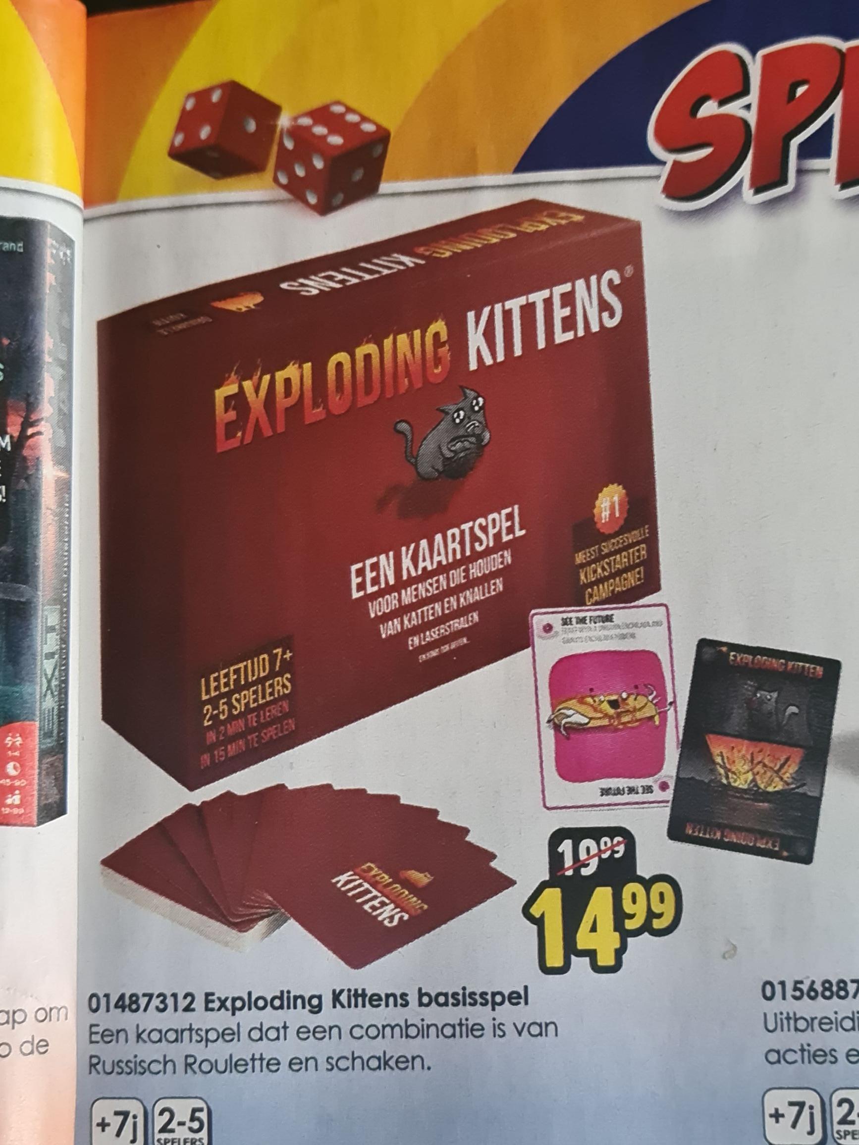Exploding Kittens basisspel
