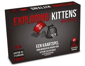 Exploding Kittens - NSFW 18+ Nederlandstalige Editie