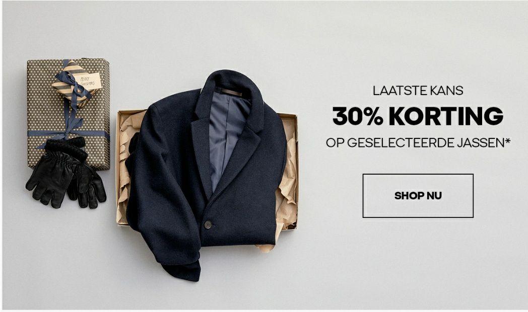 Jack & Jones 30% korting op geselecteerde jassen