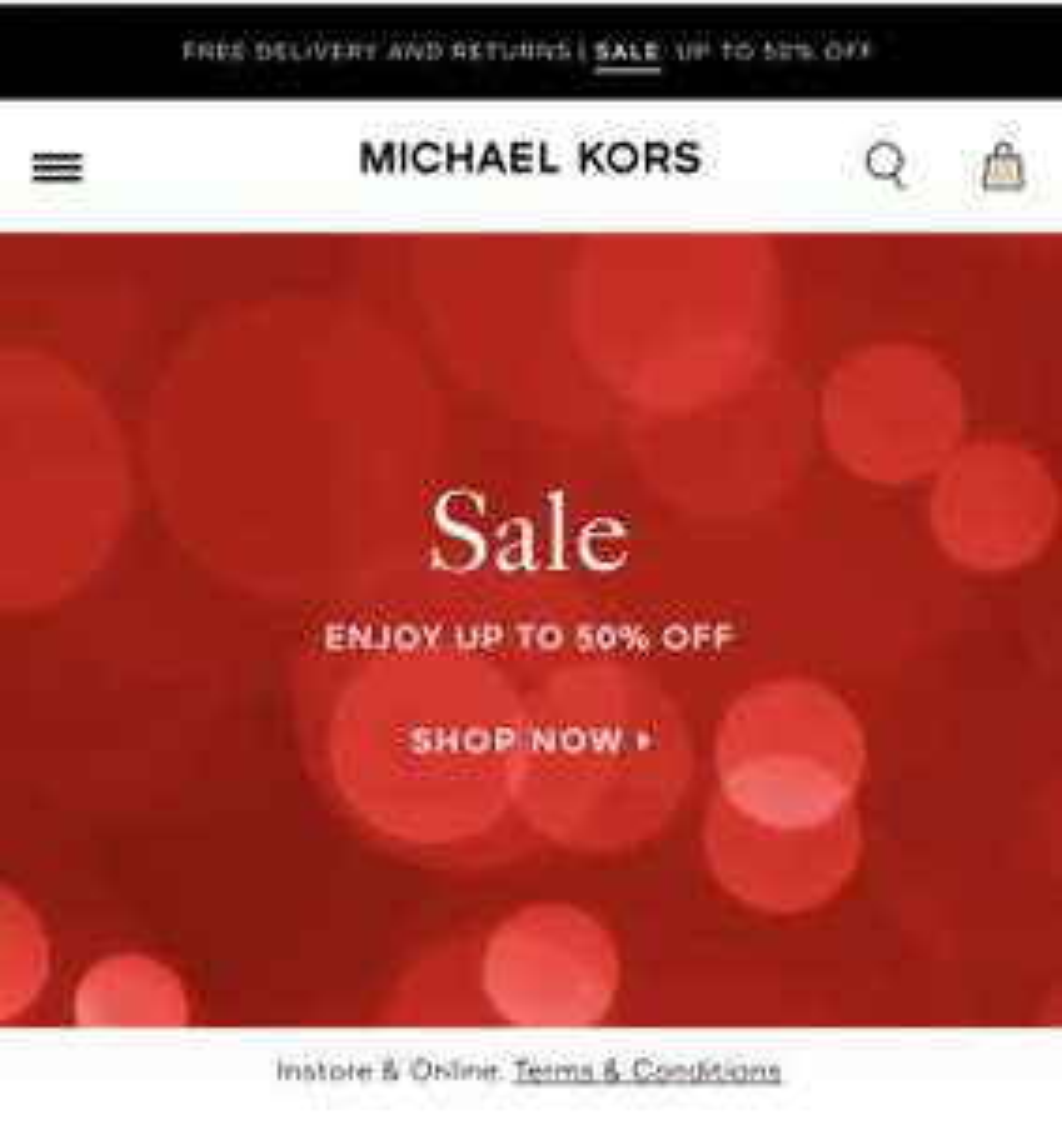 Michael Kors sale !!