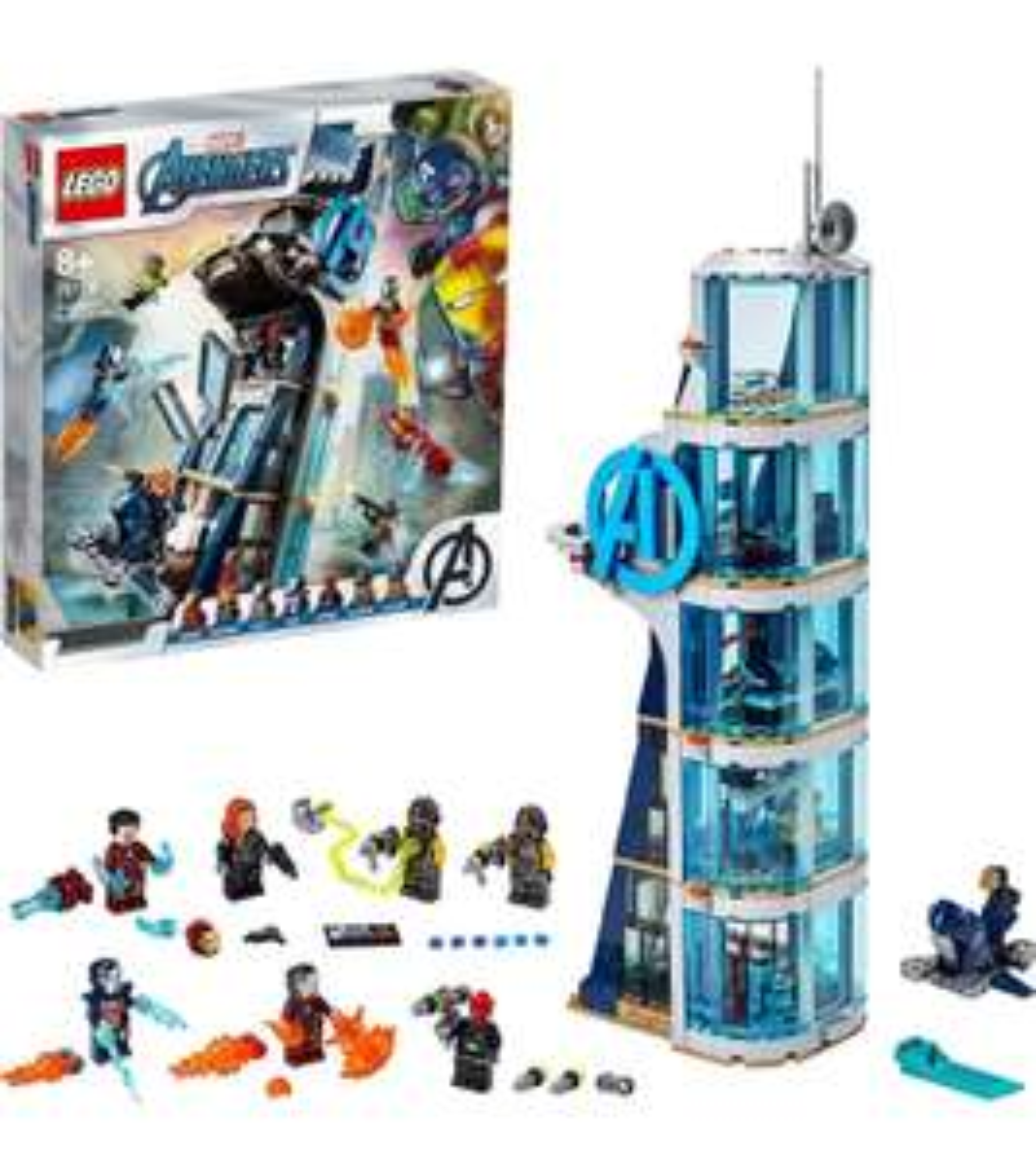 LEGO Avengers torengevecht (76166)