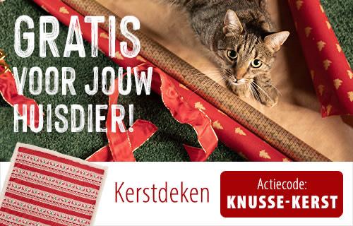 Gratis kerstdeken voor jouw hond of kat! (minimale bestelwaarde €39)