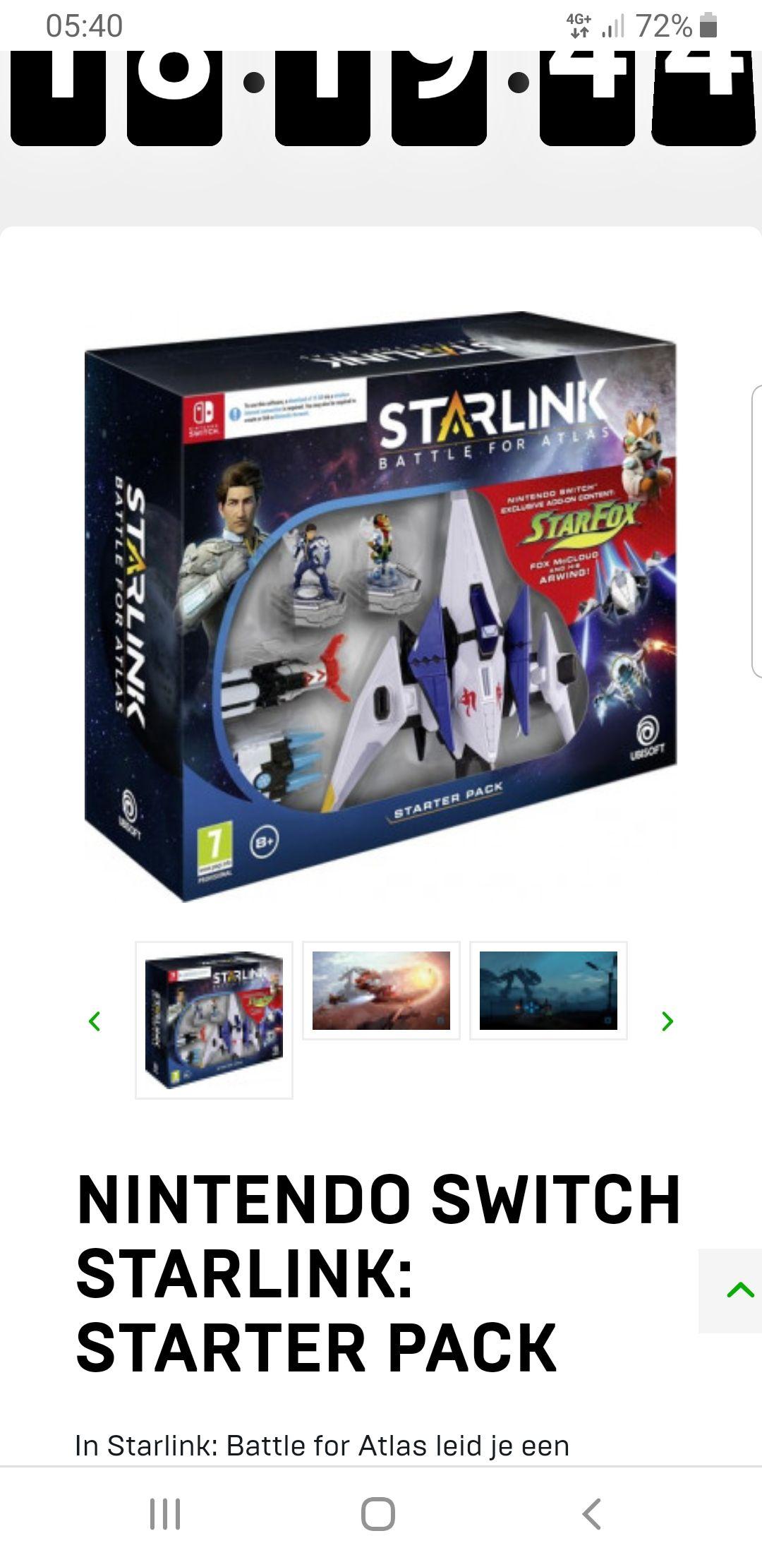Nintendo Switch - Starlink: Starter Pack