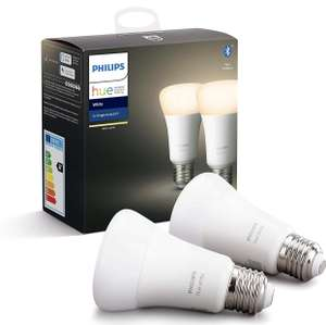 Philips Hue Standaard Lamp wit 2-Pack E27