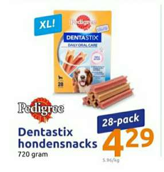 Pedigree Dentalstix 28 pack @Action