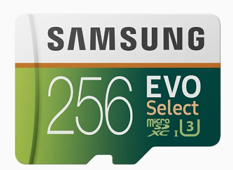 Samsung EVO Select microSD 256GB