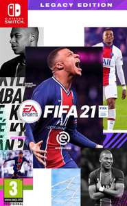FIFA 21 Legacy Edition voor Nintendo Switch
