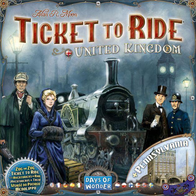 Ticket to Ride UK & Pennsylvania - Uitbreiding - Bordspel @amazon.nl