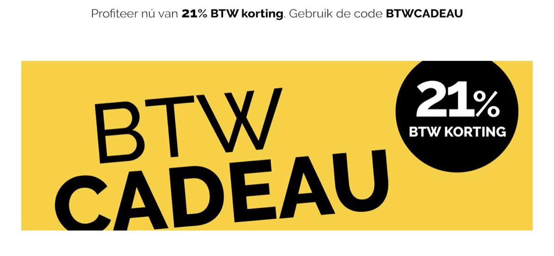 BTW Cadeau (-17,36%) @BeterBed