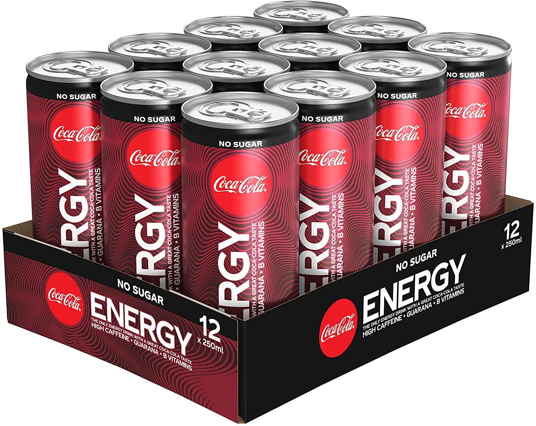 Coca-Cola Energy Zero tray 12 blik