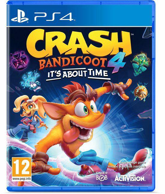 (PS4) Crash Bandicoot 4: It's About Time