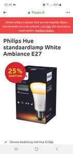 Philips hue lamp standaard white ambiance e27