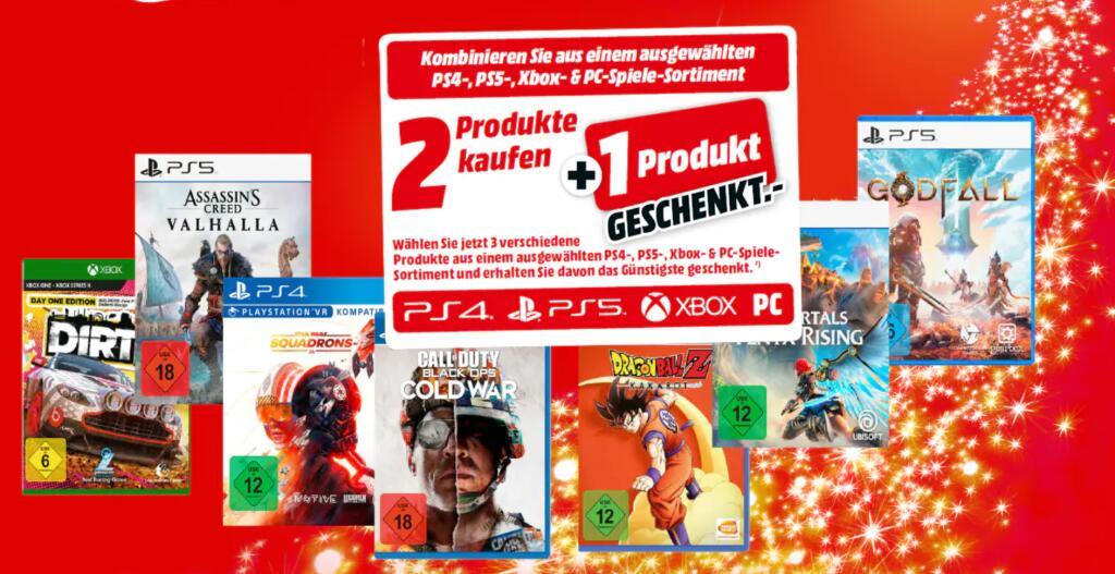 [Grensdeal] PS5 games 3=2 @MediaMarkt.de (ook op pre-orders voor PS5)