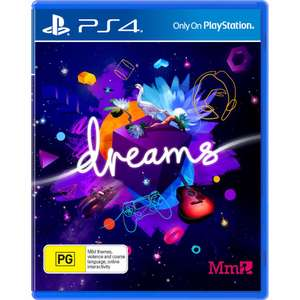Dreams PlayStation 4 game €9,99 @ BCC/Wehkamp/Amazon